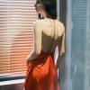 Váy ngủ lụa hở lưng sang trọng quyến rũ TK1348