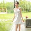 Váy ngủ lụa hở lưng gợi cảm TK1362