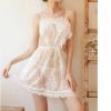Váy ngủ đêm tân hôn cùng quần lót nữ ren - Màu Trắng Free size giúp cuộc yêu hoàn hảo hơn - tk1480-vay-ngu-yem-trai-tim-5.jpg