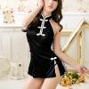 Váy ngủ sườn xám xẻ cao kèm quần lót lọt khe - Màu Đen cỡ M - Mê hoặc đối phương - ao-ngu-suon-xam-goi-cam-tk2035-4.jpg