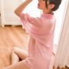 Đầm ngủ sơ mi trong suốt kèm quần lọt khe - Màu Hồng Free size - Làm chàng mê mẩn - ao-so-mi-ngu-xuyen-thau-tk2044-5.jpg