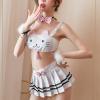 Đầm ngủ sexy cosplay miêu nữ tinh nghịch - Màu Trắng cỡ M - Gia vị cho mỗi cuộc yêu - do-ngu-mieu-nu-tk2286-6.jpg