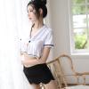Váy ngủ thư ký trẻ trung gợi dục - Màu Đen cỡ M - Chắc chắn kích thích chàng - do-ngu-thu-ky-xinh-dep-tk2074-5.jpg