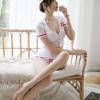 Đầm ngủ cosplay y tá gợi cảm kèm mũ cài nhỏ nhắn - Màu Trắng cỡ M - Cuốn hút - do-ngu-y-ta-goi-cam-tk2078-5.jpg