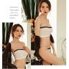 Đầm ngủ dễ thương cùng quần lót nữ đẹp nhất + Áo ngực không gọng - Màu Trắng, Đen Free size - Siêu mỏng - tk1495-ao-choang-kem-bo-do-lot20.jpg