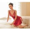 Váy ngủ lụa sang trọng gợi cảm - Màu Đỏ, hồng phấn Free size - Siêu sexy - tk1738-vay-ngu-goi-cam-3.jpg