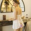 Váy ngủ gợi cảm giá rẻ gồm quần lót lọt khe nữ hà nội - Màu Trắng Free size - Mê hoặc đối phương - tk1800-vay-ngu-goi-cam-10.jpg