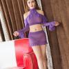 Bộ đồ ngủ cách điệu trong suốt gợi cảm - Màu Đỏ, Trắng, Đen, Tím Free size - Mặc vào cùng lên đỉnh luôn và ngay - tk1864-bo-do-ngu-sexy-2_0.jpg