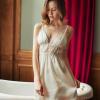Váy ngủ lụa cao cấp xẻ ngực gợi cảm - Màu Trắng, Đen, Đỏ đô Free size - Hâm nóng cảm xúc - tk1919-vay-ngu-lua-goi-cam-7.jpg