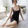 Váy ngủ ren xẻ cao quyến rũ - Màu Đen cỡ M - Mê hoặc đối phương - tk1939-vay-ngu-xe-ta-goi-cam-2.jpg