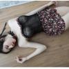 Váy ngủ cup ren lưới gợi cảm - Màu Họa tiết hoa Free size - Lôi cuốn chàng trai của bạn - tk1945-vay-ngu-cup-nguc-de-thuong-2.jpg