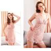Đầm ngủ ren sexy cùng quần lót lọt khe nữ - Màu Đỏ, Hồng Free size - Không thể rời mắt - tk1980-vay-ngu-ren-mut-nguc-7.jpg