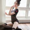 Đầm ngủ cosplay y tá xuyên thấu quyến rũ kèm quần lót lọt khe - Màu Trắng, Đen cỡ M - Chắc chắn kích thích chàng - tk1985-ao-ngu-y-ta-om-body-trong-suot-10.jpg