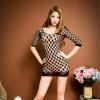 Đầm ngủ ren lưới mỏng dính siêu quyến rũ - Màu Đỏ, Đen Free size - Thật gợi cảm - tk669-vay-ngu-luoi-om-sexy-5.jpg