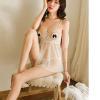 Váy ngủ hở ngực dễ thương cùng quần lót nữ trong suốt - Màu Trắng, Đen Free size - Siêu sexy - vay-ngu-ho-nguc-trong-suot-tk2082-13.jpg