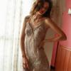 Đầm ngủ ren xuyên thấu cùng quần lót nữ gợi cảm - Màu Đỏ, Đen, Xám, Hồng tím Free size - Lôi cuốn chàng trai của bạn - vay-ngu-ren-sexy-tk1862-17.jpg