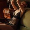 Váy ngủ siêu mỏng kèm quần lót lọt khe nữ - Màu Đen Free size - Không thể rời mắt - vay-ngu-xe-truoc-trong-suot-tk2294-5.jpg
