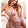 Áo ngực sexy cùng quần lót nữ thun lạnh - Màu Đỏ đô, Hồng tím - Một đêm cuồng nhiệt - bo-do-ngu-ren-sexy-tk2326.jpg