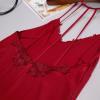 Váy ngủ lụa quyến rũ - Màu Đỏ đô cỡ M, L - Làm chàng mê mẩn - tk1172-vay-ngu-lua-mau-do-do-2.jpg