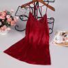 Váy ngủ lụa quyến rũ - Màu Đỏ đô cỡ M, L - Làm chàng mê mẩn - tk1172-vay-ngu-lua-mau-do-do-3.jpg