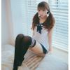 Đầm ngủ cosplay thuỷ thủ dễ thương - Màu Trắng Free size - Không thể rời mắt - tk1560-vay-ngu-cosply-thuy-thu-de-thuong-9.jpg