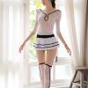 Váy ngủ cosplay cảnh sát trẻ trung xinh đẹp - Màu Trắng Free size - Mê hoặc đối phương - tk1599-cosplay-canh-sat-sexy-1.jpg