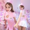Váy ngủ cosplay y tá hồng dễ thương - Màu Hồng Free size - Yêu nhau dài lâu - tk1701-cosplay-y-ta-goi-cam-14.jpg