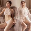 Áo choàng ngủ ren kèm bộ lót sexy - Màu Trắng Free size - Dịu dàng - tk1848-ao-choang-ngu-ren-kem-bo-lot-sexy-11.jpg