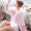 Váy ngủ cup ngực kèm choàng phi lụa dễ thương - Màu Hồng đậm, Hồng tím, Hồng nhạt, Hồng cam cỡ M - Biết nói - tk1873-ao-choang-vay-ngu-cup-nguc-de-thuong-3.jpg