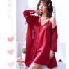 Áo choàng váy ngủ phi gợi cảm - Màu Đỏ đô, Xanh dương cỡ M - Thật gợi tình - tk1893-ao-choang-ngu-phi-goi-cam-11.jpg