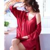 Áo choàng váy ngủ phi gợi cảm - Màu Đỏ đô, Xanh dương cỡ M - Thật gợi tình - tk1893-ao-choang-ngu-phi-goi-cam-7.jpg