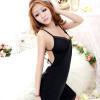 Váy ngủ thun trơn gợi cảm quyến rũ - Màu Đen Free size - Quyến rũ - tk1894-vay-ngu-thun-tron-goi-cam-1.jpg