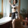 Đồ ngủ hầu gái 2 mảnh sexy - Màu Đen Free size - Thiêu đốt ánh nhìn chàng ấy - tk1905-cosplay-hau-gai-sexy-8.jpg