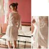 Áo choàng kèm váy lụa phối ren gợi cảm - Màu Trắng cỡ M, L - Làm chàng không thể chối từ - tk1909-vay-lua-kem-choang-sang-trong-15_0.jpg