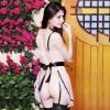 Váy ngủ kẹp vớ hở mông sexy - Màu hồng phấn Free size - Khiến chàng kiệt sức vì bạn - tk969-vay-ngu-kep-vo-sexy-3.jpg