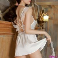 Váy ngủ trắng gợi cảm TK1170