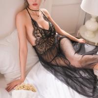đầm ngủ sexy gồm quần lót nữ lọt khe - Màu Đen Free size thăng hoa cùng người ấy - tk1463-vay-ngu-dai-trong-suot-5_0.jpg