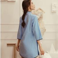 Đầm ngủ phong cách truyền thống gợi cảm