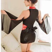 Váy ngủ cosplay sườn xám hở vai - Màu Đen Free size - Hâm nóng cảm xúc - 704965108758863694600806896823840710590464n_ytlqgw2o.jpg