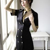 Váy ngủ cosplay cảnh sát xinh đẹp - Màu Đen cỡ M - đừng xa em đêm nay - ao-ngu-canh-sat-tk2043-6.jpg