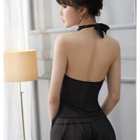 Váy ngủ yếm gồm quần áo lót nữ - Màu Đen Free size - Gia vị cho mỗi cuộc yêu - ao-ngu-yem-canh-tien-sexy-tk2061-7.jpg