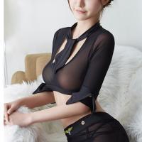 Đầm ngủ cosplay cảnh sát nóng bỏng kèm vớ gợi tình - Màu Đen cỡ M - Hàng hot - cosplay-canh-sat-nong-bong-tk2134-1.jpg