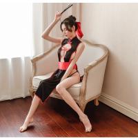 Áo ngủ sườn xám cosplay phù thuỷ sexy kèm cài tóc dễ thương - Màu Đen Free size - Thăng hoa cùng người ấy - suon-xam-phu-thuy-tk2172-5.jpg