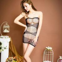 Váy ngủ lưới ôm body nóng bỏng - Màu Đen Free size - Một đêm cuồng nhiệt - tk906-5.jpg