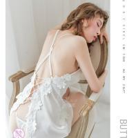 Váy ngủ gợi cảm cùng quần lót nữ lọt khe trong suốt - Màu Đỏ, Trắng Free size - Khiến chàng ham muốn bạn - vay-ngu-cheo-day-dinh-hoa-goi-cam-tk3015-5.jpg