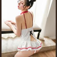 Đầm ngủ cosplay y tá gợi cảm kèm cài tóc tinh nghịch - Màu Trắng Free size - Xin chờ một phút - vay-ngu-cosplay-y-ta-sexy-tk3111-13.jpg