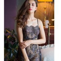 Váy ngủ ren đẹp kèm quần lót nữ bằng lưới - Màu Trắng, Đen Free size - Yêu đầy đam mê - vay-ngu-ren-sexy-tk2005-2.jpg