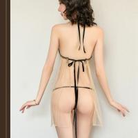 Đầm ngủ xuyên thấu dễ thương kèm quần lót nữ lọt khe - Màu Nude Free size - Khơi dậy ham muốn - vay-ngu-sexy-xuyen-thau-tk3086-1.jpg