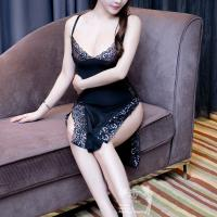 Đầm ngủ pha ren xẻ cao - Màu Đen Free size - Làm chàng hưng phấn tột đỉnh - vay-ngu-xe-hong-2-day-goi-cam-tk2247-9.jpg