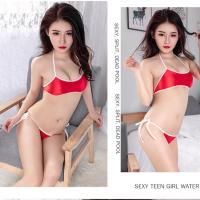 Đồ lót bikini thun trơn bóng sexy (đen, xanh, trắng, đỏ) - do-lot-bikini-thun-bong-dl568-13.jpg
